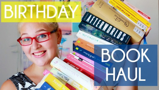 BirthdayBookHaul
